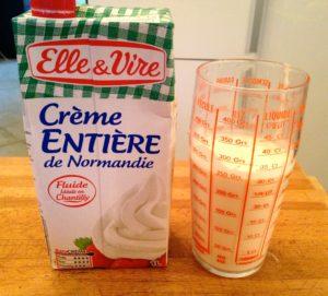 creme liquide pour caramel