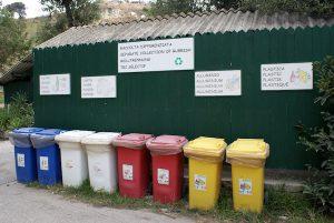 tri déchets italie