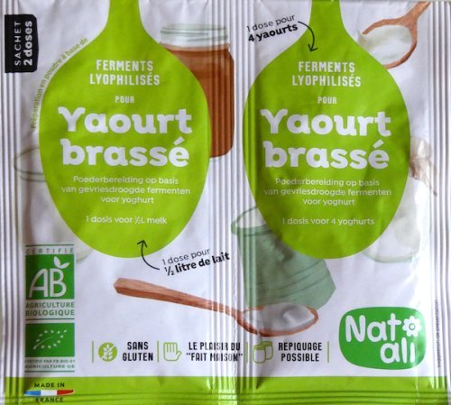 fermant pour yaourts maison